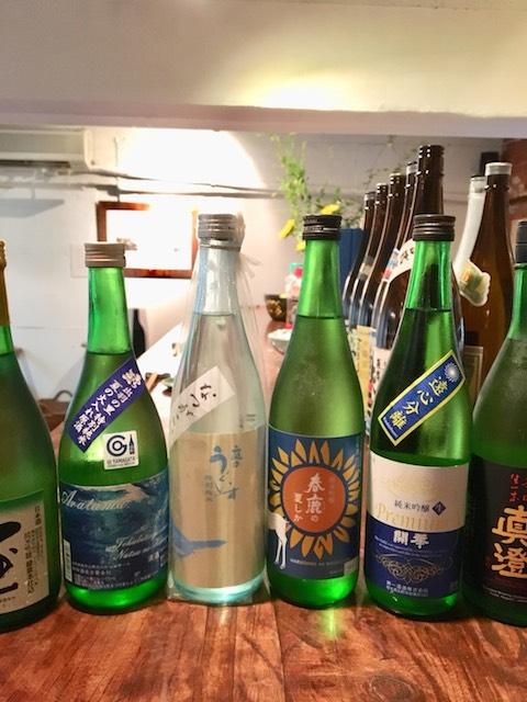 夏のオススメ 日本酒各種